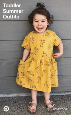 Keep your toddler cool & comfy with cute summer outfit ideas, play clothes & fun fashion.
