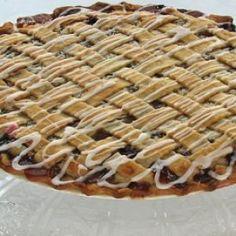 Sweet-Tart Apple Berry Apricot Pie