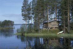 Cottage in Finnish Lakeland by Visit Finland, via Flickr