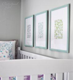 Lavender + Blue Girl's Room!