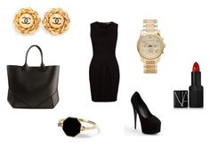 Untitled #20 by jaskew11 on Polyvore featuring polyvore, moda, style, Darling, Giuseppe Zanotti, Givenchy, Michael Kors, Chanel, NARS Cosmetics, Marc by Marc Jacobs, fashion and clothing