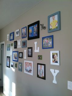 My family's gallery wall