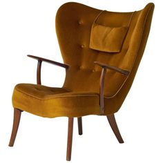 Acton Schubell and Ib Madsen lounge chair | From a unique collection of antique and modern chairs at https://www.1stdibs.com/furniture/seating/chairs/