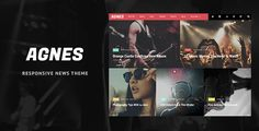 awesome Agnes - Responsive WordPress News Theme (News / Editorial)