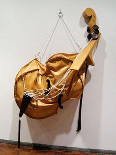 """Claes Oldenburg & Coosje van Bruggen's """"Soft Viola,"""" 2002"""