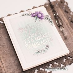 Hi Folks, I can't stop creating with the Catherine Pooler Designs Grateful Heart stampset from the recent release. The images and sentiments are just so pretty! I wanted to share two of the…