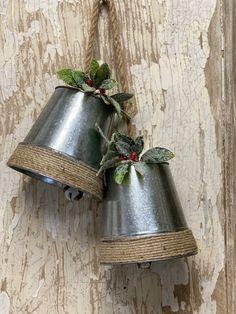 Dollar Tree Christmas, Christmas Bells, Christmas Crafts, Christmas Decorations, Christmas Ideas, Holiday Ideas, Crochet Christmas, Christmas Angels, Christmas Stuff