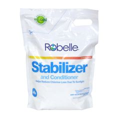 Robelle Chlorine Stabilizer and Conditioner will cut chlorine loss caused by sunlight. Customers save money when they use Robelle Chlorine Stabilizer and Conditioner. If you use Robelle Chlorine Stabilizer Pool Plaster, Plastic Pail, Vinyl Pool, Pool Filters, Pool Equipment, Pool Cleaning, 1 Oz, Lawn And Garden, Stability