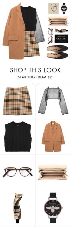 """""""untitled 4:11 p.m."""" by yuelle ❤ liked on Polyvore featuring Burberry, demoo parkchoonmoo, Neil Barrett, Cutler and Gross, MICHAEL Michael Kors, Aesop and Olivia Burton"""