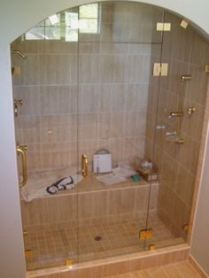 Shower Without Door ceramic tile showers without doors   ceramic tile shower bench