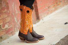 Tony Lama Women's Chocolate Frio 3R™ Buckaroo Boots – Tailored West Fashion…
