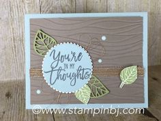 Thoughtful Branches is a limited time bundle from Stampin' Up! that you must have!  Details on my blog.