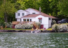 Keuka Lake Vacation Rentals: Knotty Pine Cottage | Finger Lakes Rentals | Lakeside Keuka Lake Rentals