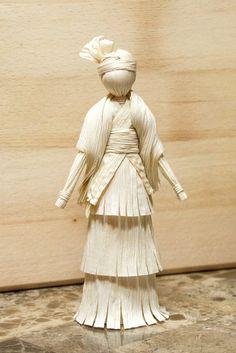 Native Indian Corn Husk Doll by CornHuskCrafts on Etsy