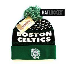 71cef1da1de Boston Celtics Cuff Knit Beanie by Mitchell   Ness