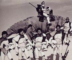 Star Wars, behind the scenes