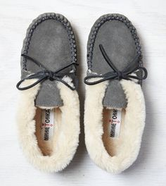 New Slippers!    Soft Moc (Size 9.5) (Love this style, doesn't have to be exact same)