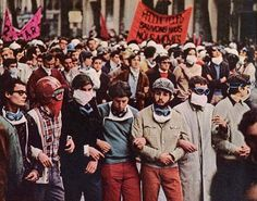 1968 french student protest