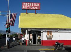 the frontier restaurant across the street from unm.
