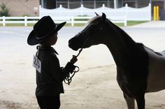 Colbie with Vanity Grove Farms B52 at the Area One Show