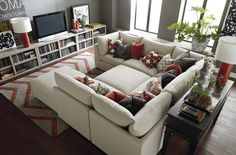 The Pit Beckham. Perfect for family movie night. #BassettFurniture