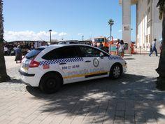 Vehículo de patrulla de Puerto Real, (Cádiz)