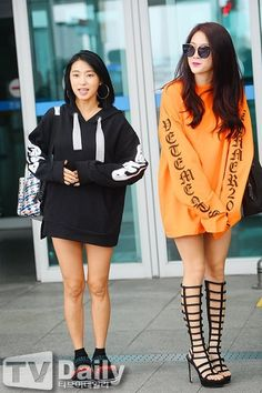 Bora e Soyou Sistar Soyou, Peplum Dress, Kpop, Sweaters, Dresses, Fashion, Gowns, Moda, Fashion Styles