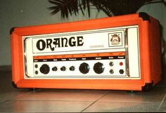 Your Vintage Orange Amplifier - Page 3 Orange Amplifiers, Valve Amplifier, Orange Amps, Orange You Glad, Orange Crush, Mid Century Design, Burnt Orange, Favorite Color, Guitars