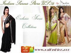 Indian Sarees Store USA - All the latest models of #Sarees with many designs and alterations on it can be purchased from our store, #Saifashion. The collection that is most likable by the young women in the modern style is present. For more details and for information of other products visit our store or check out our online portal http://www.saifashion.com/index.php?route=product/search&search=Georgette+saree