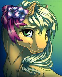 Applejack Portrait by KittehKatBar on deviantART