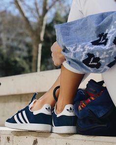 23e0364450b Girlsonmyfeet | New website coming soon. Adidas Gazelle BleuAdidas ...