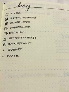 """Schon mal so ein """"Bullet-Journal"""" gemacht?  #Malen #Zeichnen #Notizbuch"""