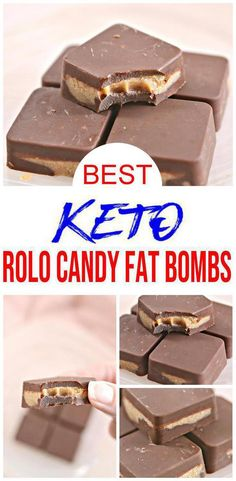 Low Carb Breakfast Recipes – The Keto Diet Recipe Cafe Low Carb Candy, Keto Candy, Low Carb Desserts, Low Carb Recipes, Healthy Desserts, Keto Fat, Low Carb Keto, Rolo Chocolate, Quick Keto Dessert