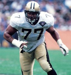William Layton Roaf born April 18, 1970, is a former offensive tackle in the NFL for thirteen seasons. He played college football for Louisiana Tech University, & earned consensus All-American honors. He was a first-round pick in the 1993 NFL Draft, & played professionally for the New Orleans Saints from 1993-2001. An eleven-time Pro Bowl selection & nine-time All-Pro, he was enshrined in the Pro Football Hall of Fame in 2012.