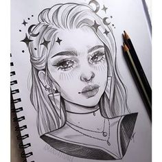 Girl Drawing Sketches, Book Drawing, Cool Art Drawings, Pencil Art Drawings, People Coloring Pages, Doodle Books, Cartoon Art, Creative Art, Videos
