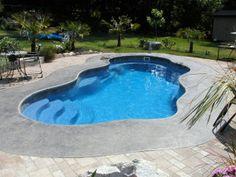 Laguna Freeform Inground Fiberglass Pool 64A