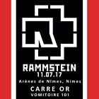 #lastminute  LOT 2 BILLETS TICKETS PLACES RAMMSTEIN ARENES NIMES CAT 1 BLOC101 CARRE OR 11/07 #Ostereich