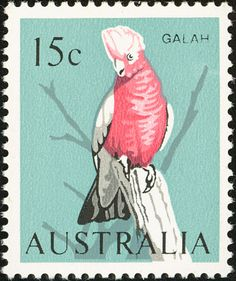 Galah stamps - mainly images - gallery format