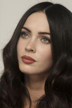 Megan Fox hair and makeup
