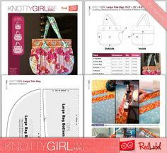 Sewing: KnottyGirl Boho Bag