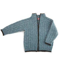 Flottenhejmer Barn Knitting For Kids, Crochet For Kids, Crochet Baby, Knit Crochet, Tweed, Crochet Cardigan, Cardigans, Sweaters, Men Sweater