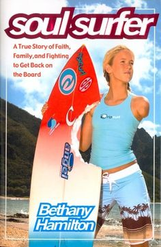Soul Surfer by Bethany Hamilton- very inspiring read. After everything she went through, she never lost faith.