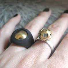 #xtellar #rings #cosmic #jewelry #silver #brass #3dprint