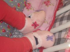 Woollen babyshoes, nice and warm