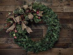 Red Berry, Button, Pine, & Bell Christmas Wreath Accent/Swag with Small Complimenting Accent - Shown on a Wreath (wreath not included) Christmas Bells, Christmas Wreaths, Diy Design, Floral Design, Silver Ornaments, Entry Doors, Home Decor Styles, Grape Vines, The Help