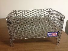 10 W x 6 Deep x 6 In Tall - Wood Pellet Basket Fireplace Insert For Wood Stoves