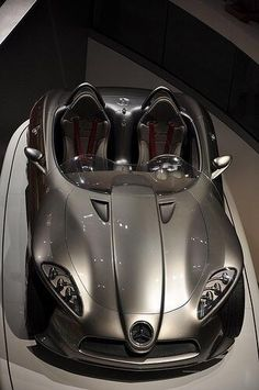 ♂ Silver car Mercedes McLaren #share #awesome cars