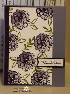 Windy's Wonderful Creations, Stampin' Up!, What I Love, SAB 2016