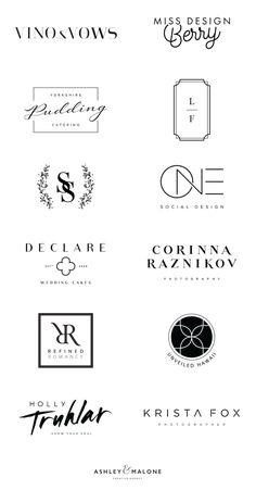 New Cleaning Logo Sans Serif Ideas Logo Branding, Branding Design, Brand Logo Design, Design Logos, Design Agency, Inspiration Logo Design, Design Trends, Type Logo, Fashion Logo Design