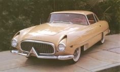 "1954 Hudson Italia - a very different ""sports"" model for the mid-1950s."